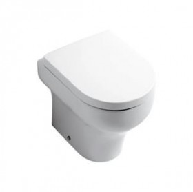 OLYMPIA CLEAR WC SOLJA BACK TO WALL  03CL 1