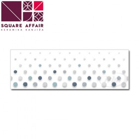JOY DOTS BLUE 20x60 cm INSERT 1